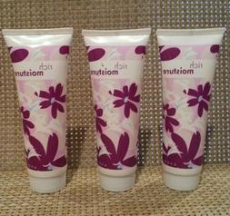 Set 3 -  Avon Basics RICH MOISTURE  - Travel Hand Cream 1.5