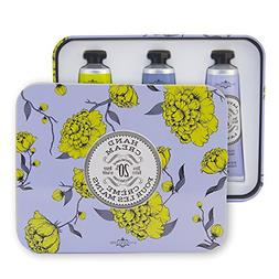 La Chatelaine 20% Shea Butter Hand Cream Travel Size Tin Gif