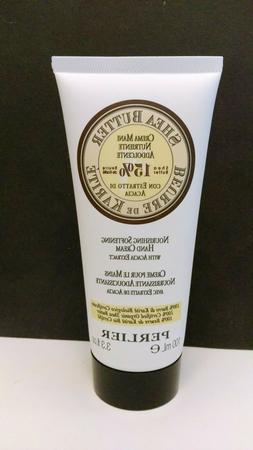 Perlier Shea Butter Moisturizing Hand Cream with Acacia Extr