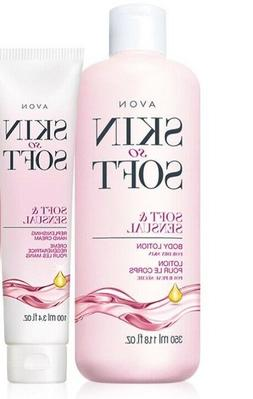 AVON Skin So Soft Soft & Sensual Body Lotion & Hand Cream 2