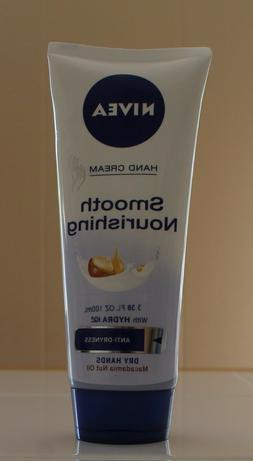 Nivea Smooth Nourishing Hand Cream 3.38oz/100ml Hydra IQ for