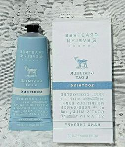 Crabtree & Evelyn Soothing Hand Cream Therapy, Goatmilk and
