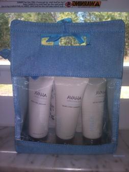 Ahava Trio Gift Set -Hand Cream 3.4OZ Foot cream 3.4OZ Body