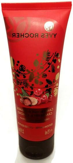 Yves Rocher Unisex Cranberry Almond Hand Cream Body Lotion M