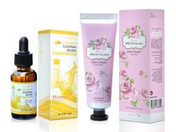DearDerm Vitamin C Serum & Hand Cream Moisturizing Skin Kore
