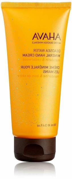 Ahava Deadsea Water Mineral hand Cream, 3.4 Oz