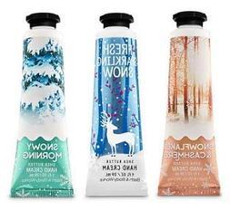 Bath and Body Works Winter Fragrances 3 Pack Hand Cream 1 Oz