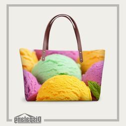 Dispalang Women Messenger Bag Ice <font><b>cream</b></font>