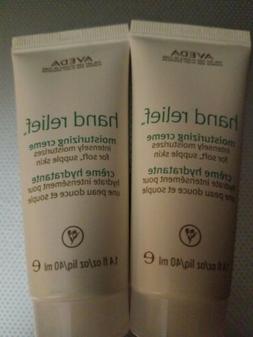X2 Aveda Skin Hand Relief Moisturizing Cream 1.4oz /40  mL N